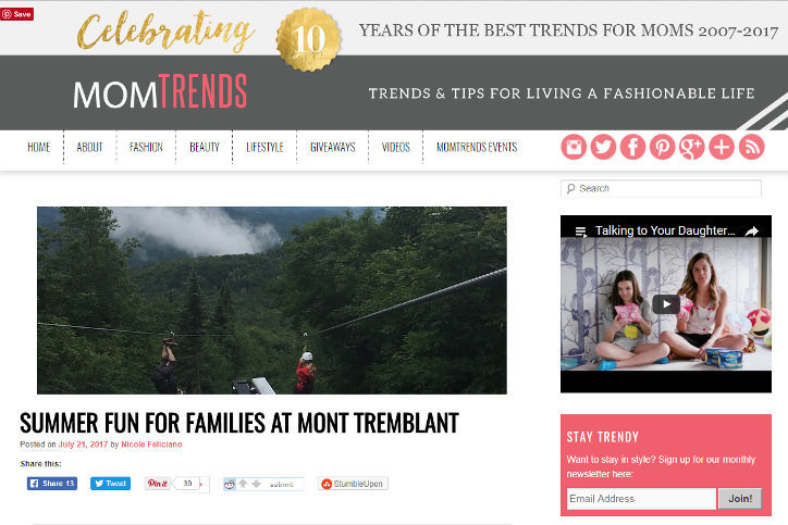 Featured in Mom Trends